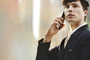 french seo case study - a guy on the phone