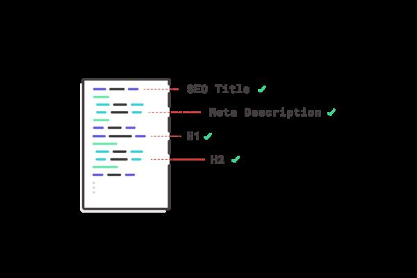 illustration showing website