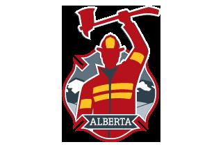 alberta volunteer fire fighters logo